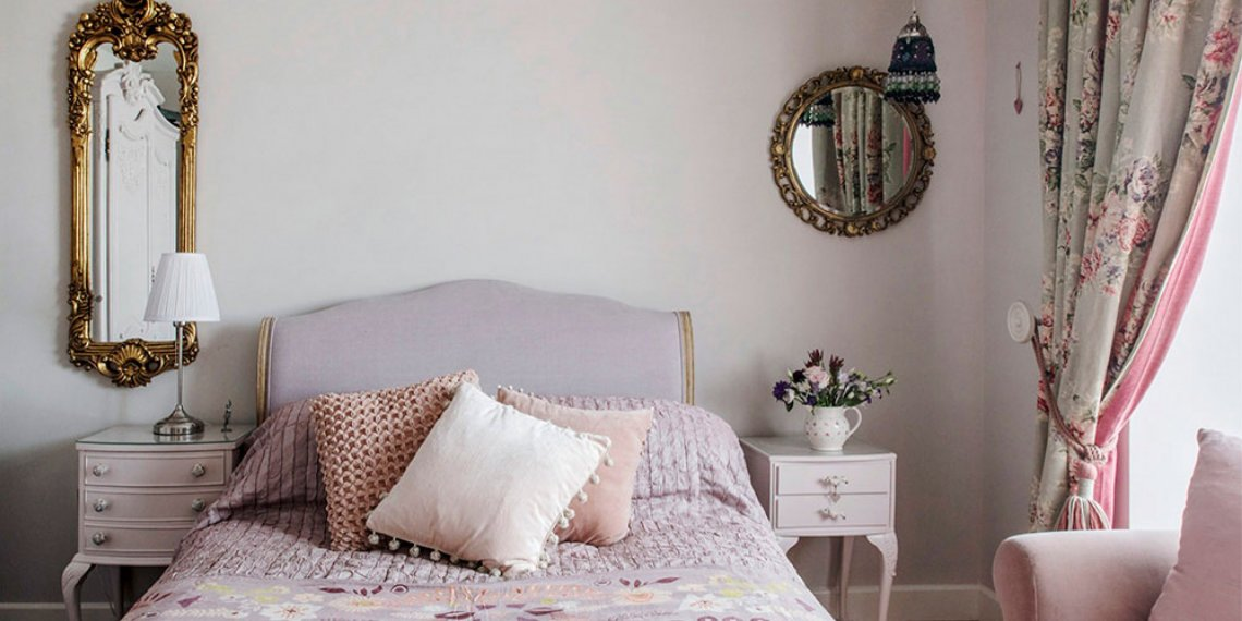 Quay View Interior Project, Bedroom with French style, pinks